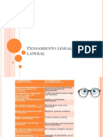 Pensamiento Lineal y Lateral (1)