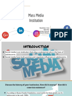 mass media powerpoint