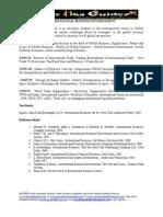 1Gud One International Business Environment Full Syllabus