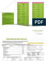 TRIPTICO ENFERMEDAD METABOLICA