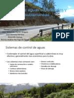 Control de Aguas Superficiales y Subterraneas