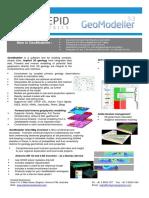 01 GeoModeller v33 Brochure