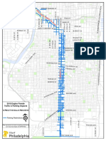 Eagles Parade Route Map