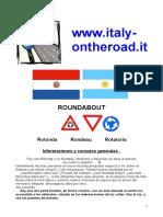 Rotonda Rotatoria Rondeau Spain
