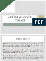 Metastasis Bone Disease