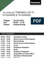 TH-32A402G Technical Training