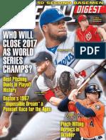 Baseball Digest September-October 2017