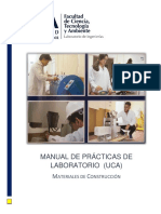 Manual de Practicas de Laboratorio Materiales UCA (2018)
