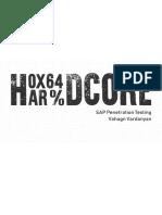 43859 Hardcore Sap Penetration Testing