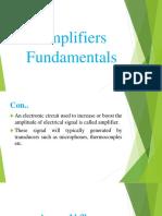 Amplifiers Fundamentals