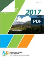 Kota Tomohon Dalam Angka 2017