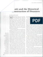 """Haiti and the Historical Construction of Disasters"""