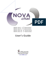 Nova Chat User Guide