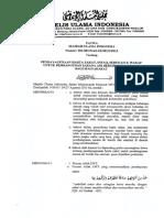 01-16-29 Fatwa ZISW Untuk Air & Sanitasi - MUI