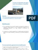 Biofiltración Innovadora Para El Tratamiento de Aguas Residuales