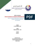 Kertas Kerja Pelaksanaan Khatam Quran 2014 Terkini
