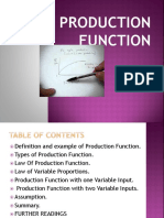 Production Function Ok