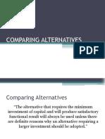 6 Comparing Alternatives