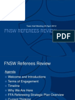 FNSW Referees Review Town Hall Presentation FINAL