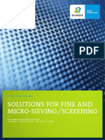 4. Bilfinger Water Technologies - Solutions for Fine and Micro-Sieving