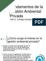 Fundamentos de La Gestión Ambiental Privada