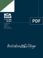 e - Brosur Batakan Village