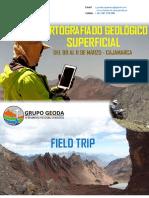 Brochure Cartografiado Geológico Superficial (Marzo 2018 - Cajamarca)