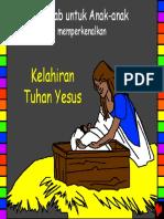 The Birth of Jesus Indonesian