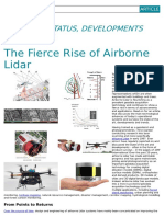 The Fierce Rise of Airborne Lidar