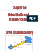 4 Drive Shaft and Transfercase