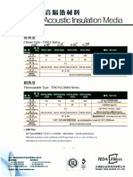隔音材料说明_Teda Filters-Product Catalog