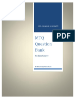 Mtq Question Bank