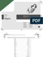 Всеинструменты.Ру Инструкция Bosch Gho 18 v-li 06015a0303
