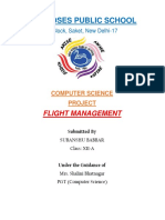 Flight management for class12
