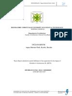 Stage-6 Oceanarium Report
