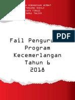 Divider Fail Pengurusan Prog Kecemerlangan Tahun 6 2018