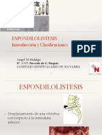 Espondilolistesis Ah