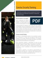 Conviso Security Training Data Sheet