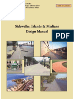 Sidewalks,Islands,&Medians Design Manuals (MOMRA) - (English)