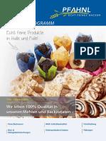 Pfahnl Produktfolder DE1516 Low