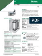 Littelfuse ProtectionRelays D0100 D0900 Datasheet