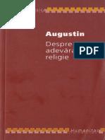 213839791 Augustin Despre Adevarata Religie Humanitas 2007 PDF