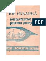 ION CREANGĂ_Ionică cel prost_Povestea poveştilor