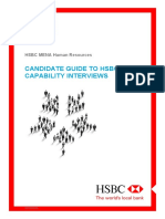 Candidate Guide to HSBC Capability