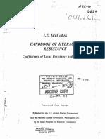 Handbook of Hydraulic Resistance IDELCHIK-English