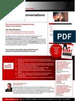 Leadership Conversations Through NLP