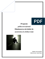 Delicventa Program