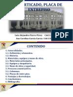 APORTICADO O CONVENSIONAL, PLACA DE ENTREPISO.pptx