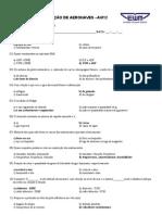 INS(AVIO)- Avalia+º+úo Final prova C
