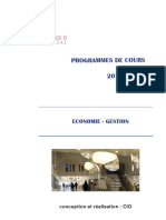 2016 Programme Eco-gestion